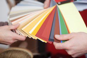 Color palette for paint