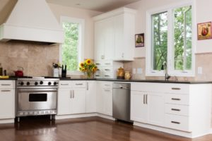 Clean kitchen interior