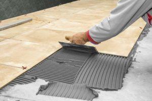 DIY tile installation