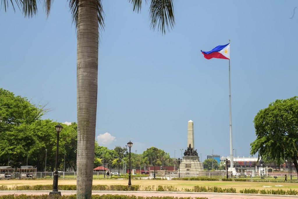 Rizal park Philippines