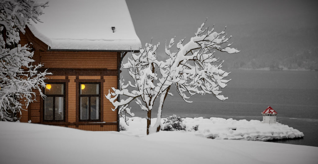 home during winter