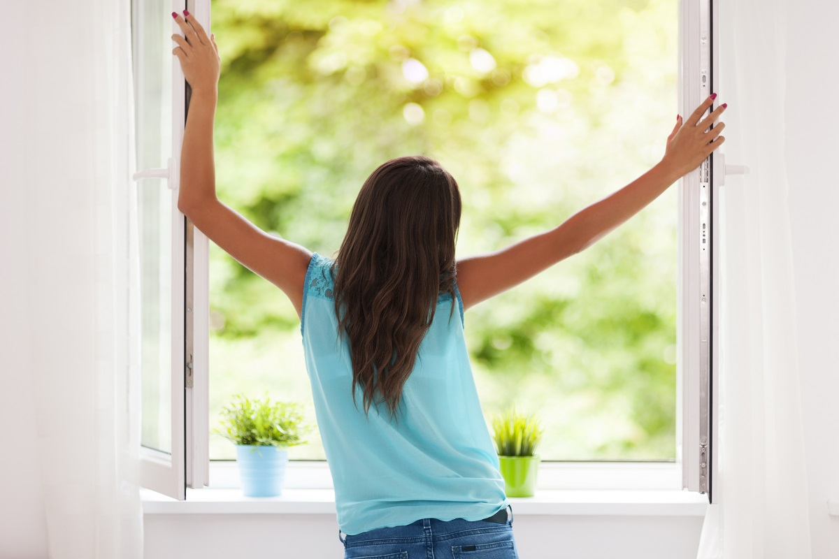 opening a window