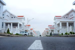 homes in a row