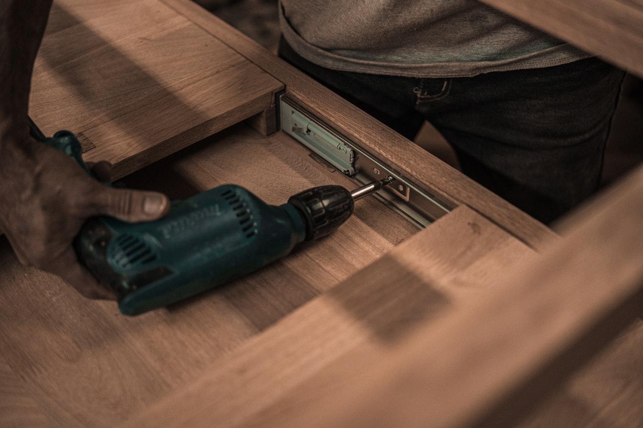 repairing drawer