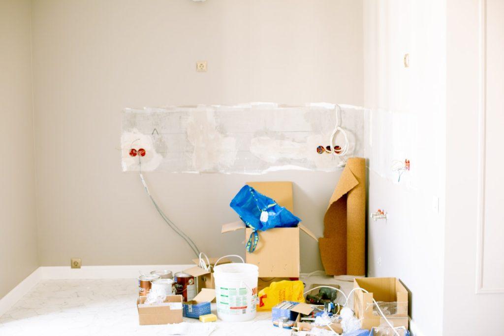 renovation of house